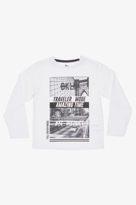 CAMISETA MODA TENTH TRAVELER JUNIOR