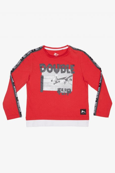 CAMISETA MODA TENTH TAPES JUNIOR