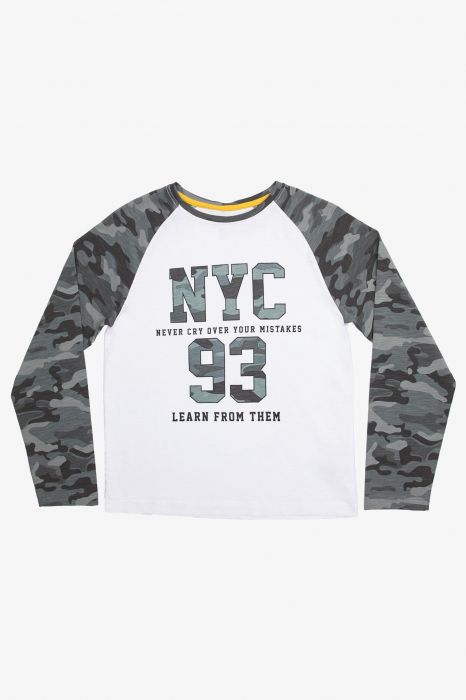 CAMISETA MODA TENTH CAMU NYC JUNIOR