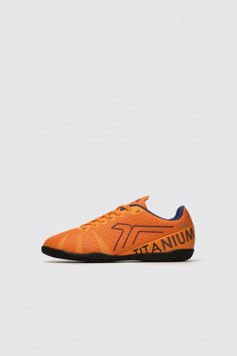CHAUSSURES FOOTBALL INDOOR TENTH TITANIUM  JR