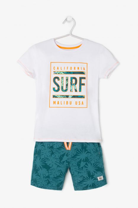 CONJUNTO CASUAL TENTH SURF NIÑO