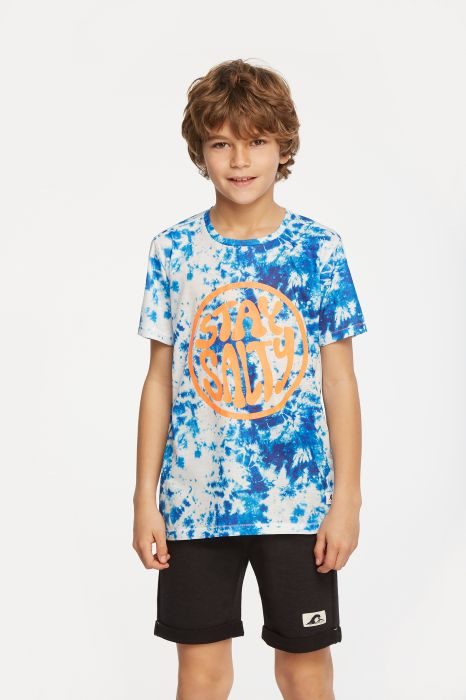 CAMISETA CASUAL TENTH TIE DYE NIÑO