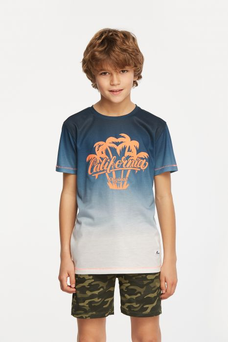 CAMISETA CASUAL TENTH CALIFORNIA NIÑO
