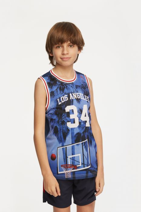 T-SHIRT BASKET TENTH SUBLIMATION GARÇON
