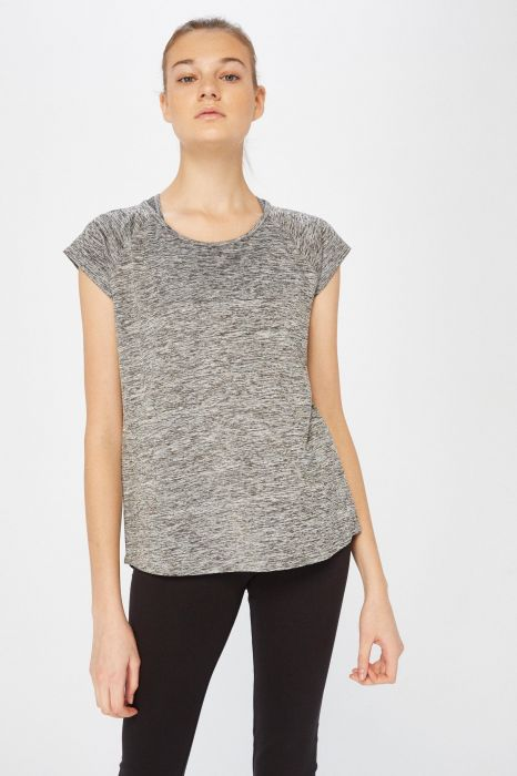 T-SHIRT TENTH POLY BASIC TEE FEMME