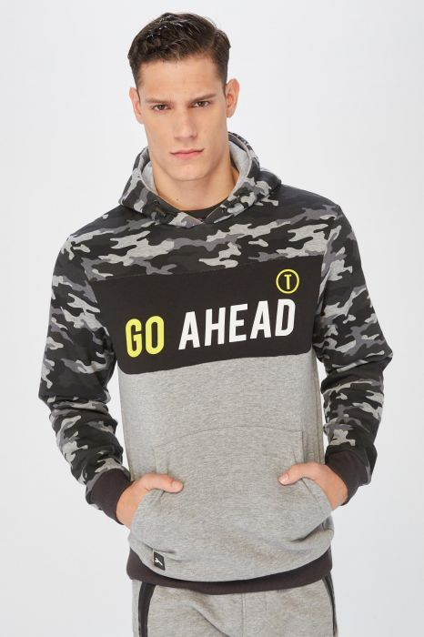 SWEAT TRAINING TENTH SUD CAMUFLAJE HOMME