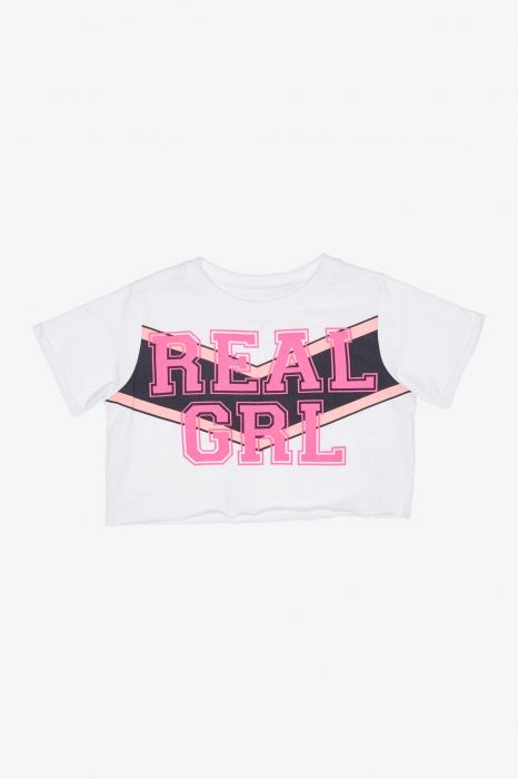 CAMISETA CROP TENTH REAL NIÑA
