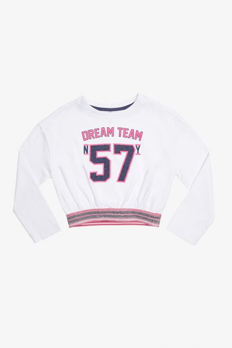 CAMISETA CASUAL TENTH TEAM 57 NIÑA