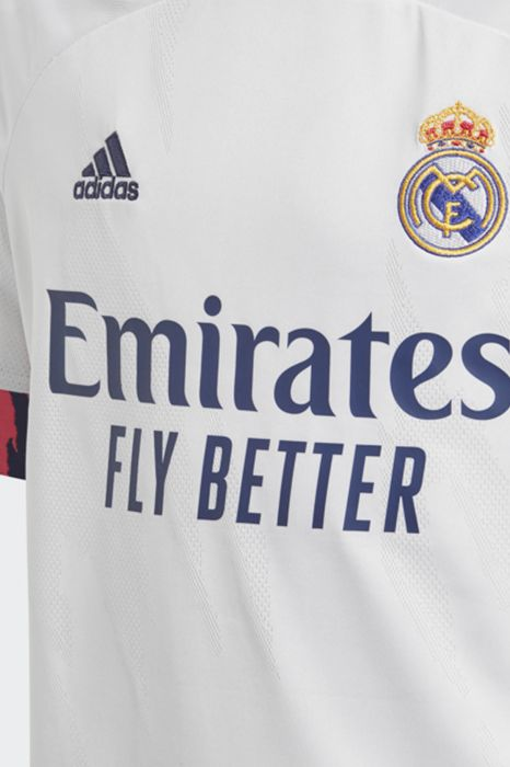 CONJUNTO REAL MADRID HOME 20/21 ADIDAS