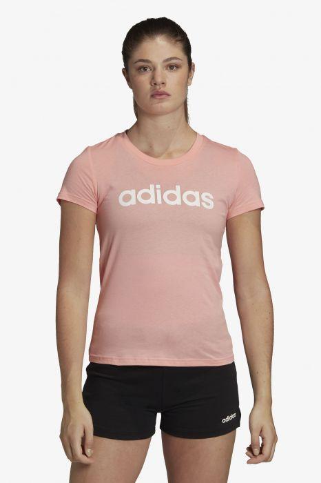 sudadera rosa y blanca adidas cremallera cuello