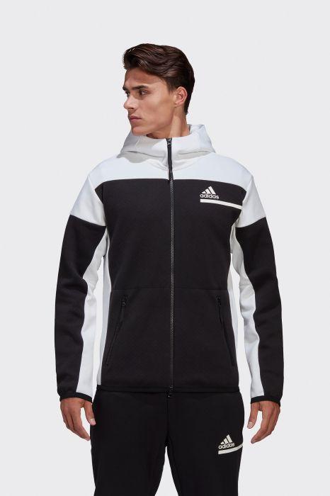 uno Extranjero Petrificar  Chaqueta deportiva con capucha ZNE para hombre de adidas