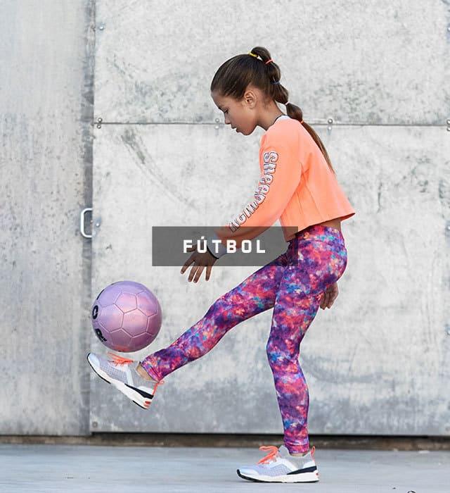 running training niña